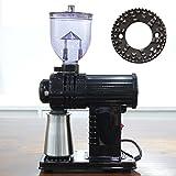 電動 小型 高性能 コーヒーミル グラインダー メ-カー アンティーク ブラック