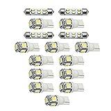 アウディ 8T A5 スポーツバック [H22.1~H29.4] LED ルームランプ 【SMD LED 84発16点セット】