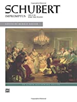 Impromptus, Opus 90 For The Piano (Alfred Masterwork Edition)