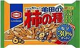 亀田製菓 減塩亀田の柿の種6袋詰 200g