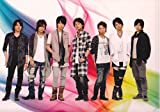 Kis-My-Ft2 キスマイ 公式グッズ SUMMER TOUR 2011 記念 クリアファイル 集合 +  公式生写真 集合 -