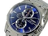 セイコー SEIKO ソーラー SOLAR クロノグラフ 腕時計 SSC085P1 並行輸入品