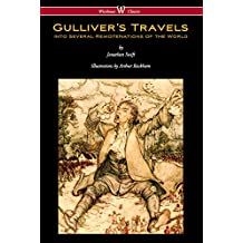 Gulliver's Travels (Wisehouse Classics Edition - with original color illustrations by Arthur Rackham)