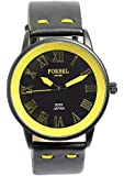 [FORBEL] フォーベル 腕時計 ウォッチ ミリタリー レザーベルト 限定モデル ビジネス フォーマル メンズ [並行輸入品]