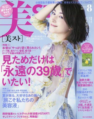 持てちゃうサイズ美ST(ビスト) 2017年 08 月号 [雑誌]: 美ST 増刊