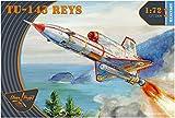 クリアープロップ 1/72 ソ連軍 ツポレフ Tu-143 レーイス 無人偵察機 プラモデル CPU72004