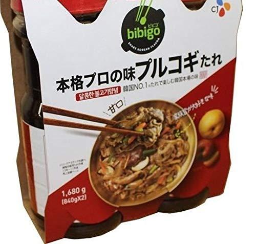 プルコギ韓国風焼肉のタレ 840g×2本セット×2