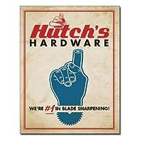メタルサイン 「Hutch's Hardware」# 2248 縦40.5×横31.7cm [並行輸入品]