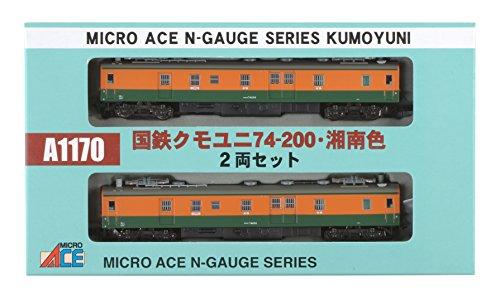 Nゲージ A1170 クモユニ74-200・湘南色2両セット