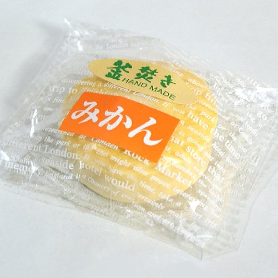 考えチョップコミット八坂石鹸 手作り石けん みかん60g