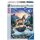 1000ピース ジグソーパズル  オオカミの叫び Ruf des Wolfes  (50 x 70 cm)