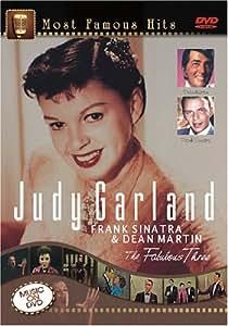 JUDY GARLAND, FRANK SINATRA & DEAN MARTIN - THE FABULOUS THREE [DVD]