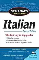 Schaum's Easy Outlines Italian