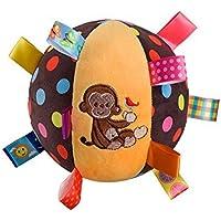 greatlove多機能Newborn Baby MonkeyパターンPlushボール旋盤吊りおもちゃPlayer Seize theボールto appease theボール