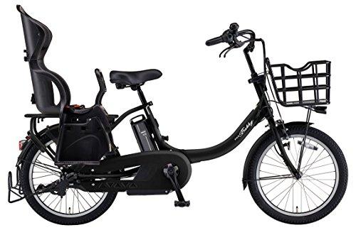 YAMAHA(ヤマハ) 電動アシスト自転車 2018年 ファミリーモデル PAS Babby un 20インチ 12.3Ahリチウムイオンバッテリー搭載 リヤチャイルドシート標準装備 PA20CGXB8J マットブラック2