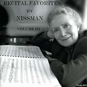 Recital Favorites By Nissman Vol. III