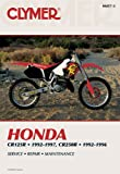 Honda CR125R and CR250R 1992-1997 (Clymer Motorcycle Repair)