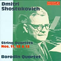 Shostakovich: String Quartets 11, 12 & 13