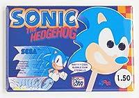 Sonic the Hedgehog IceクリームSign冷蔵庫マグネット( 2.5X 3.5インチ)