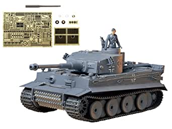 タミヤ 25142 スケール限定 1/35 ドイツ重戦車 タイガーI 初期生産型 (アベール社製エッチングパーツ/金属砲身付き)