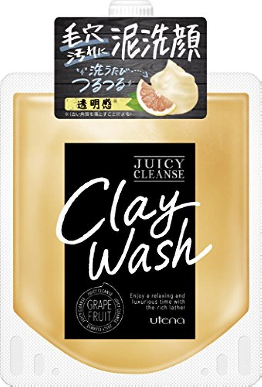 ハブ豆傷つけるJUICY CLEANSE(ジューシィクレンズ) クレイウォッシュ グレープフルーツ 110g