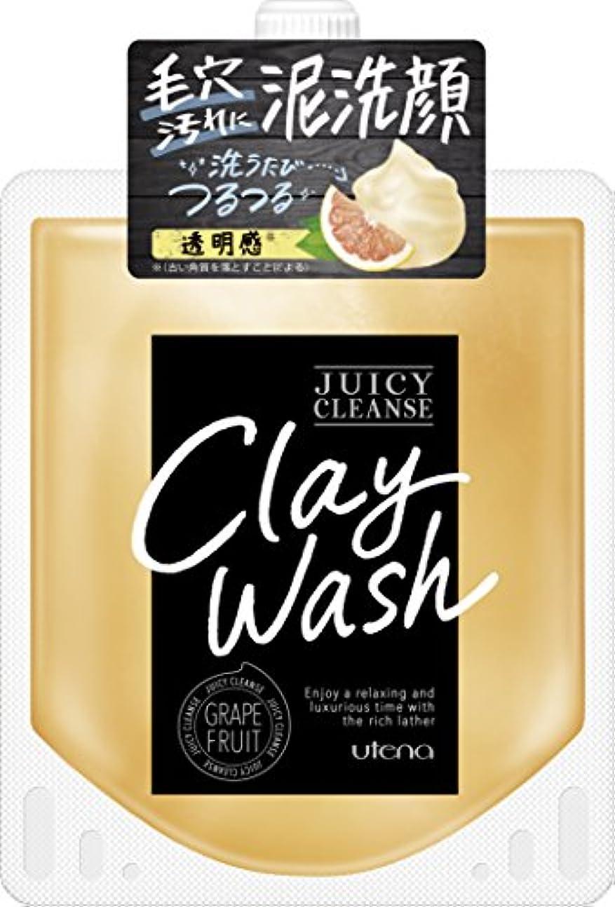 脱獄コントロール養うJUICY CLEANSE(ジューシィクレンズ) クレイウォッシュ グレープフルーツ 110g