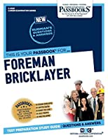 Foreman Bricklayer (Career Examination)