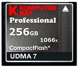 Komputerbay 256GB Compact Flash メモリカード 1066X CF 書く155MB/s, 読む160MB/s UDMA 7 RAW  コンパクトフラッシュメモリカード