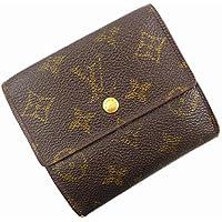 [ルイヴィトン] LOUIS VUITTON 二つ折り財布 モノグラム M61652 PVC×レザー X16861 中古