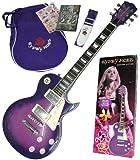 Gypsy Rose ( ジプシーローズ ) GRE2K/CPP シャンパンパープル 7/8サイズガールズ仕様ギターセット