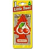 リトルツリー エアフレッシュナー 【Wild Cherry】LittleTree 芳香剤 ワイルドチェリー