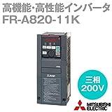 三菱電機 FR-A820-11K インバータ FREQROL-A800シリーズ (三相200V) (モータ容量11kw) (モニタ出力FM) (基板コーディングなし) (導体メッキなし) NN