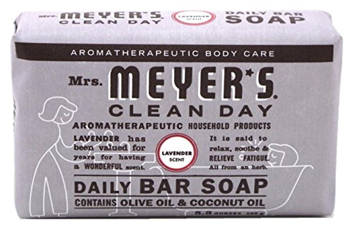 読みやすさこっそり接地Mrs. Meyers 夫人マイヤーズ石鹸ラベンダー5.3オンス(156Ml)(2パック)