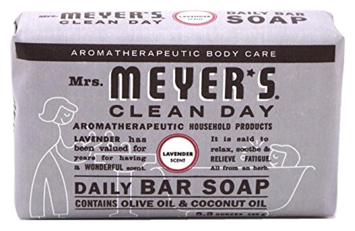 交通渋滞ダルセットタンクMrs. Meyers 夫人マイヤーズ石鹸ラベンダー5.3オンス(156Ml)(3パック)