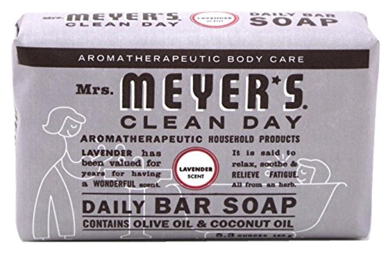 にはまって群集でMrs. Meyers 夫人マイヤーズ石鹸ラベンダー5.3オンス(156Ml)(3パック)