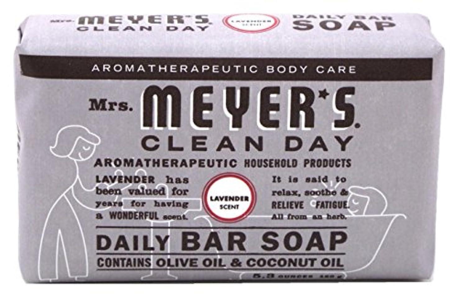 ユニークなタイピストうがい薬Mrs. Meyers 夫人マイヤーズ石鹸ラベンダー5.3オンス(156Ml)(3パック)
