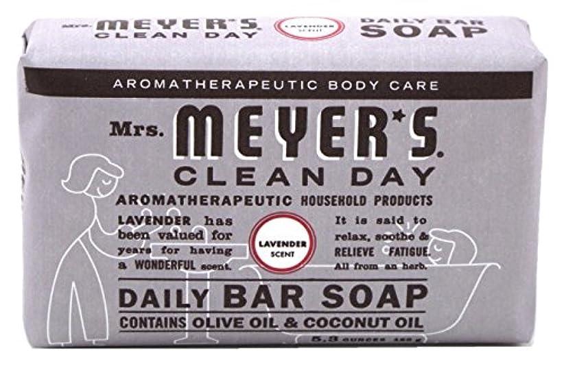 バンジョーちらつきチャップMrs. Meyers 夫人マイヤーズ石鹸ラベンダー5.3オンス(156Ml)(2パック)