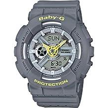 Casio Baby G Women BA110PP-8A Year-Round Analog-Digital Automatic Grey Watch