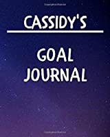 Cassidy's Goal Journal: 2020 New Year Planner Goal Journal Gift for Cassidy  / Notebook / Diary / Unique Greeting Card Alternative