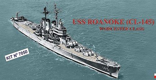 1/700 ウースター級CL-145ロアノーク1957 PN07050