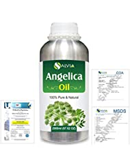 Angelica (Angelica archangelica) 100% Natural Pure Essential Oil 2000ml/67 fl.oz.