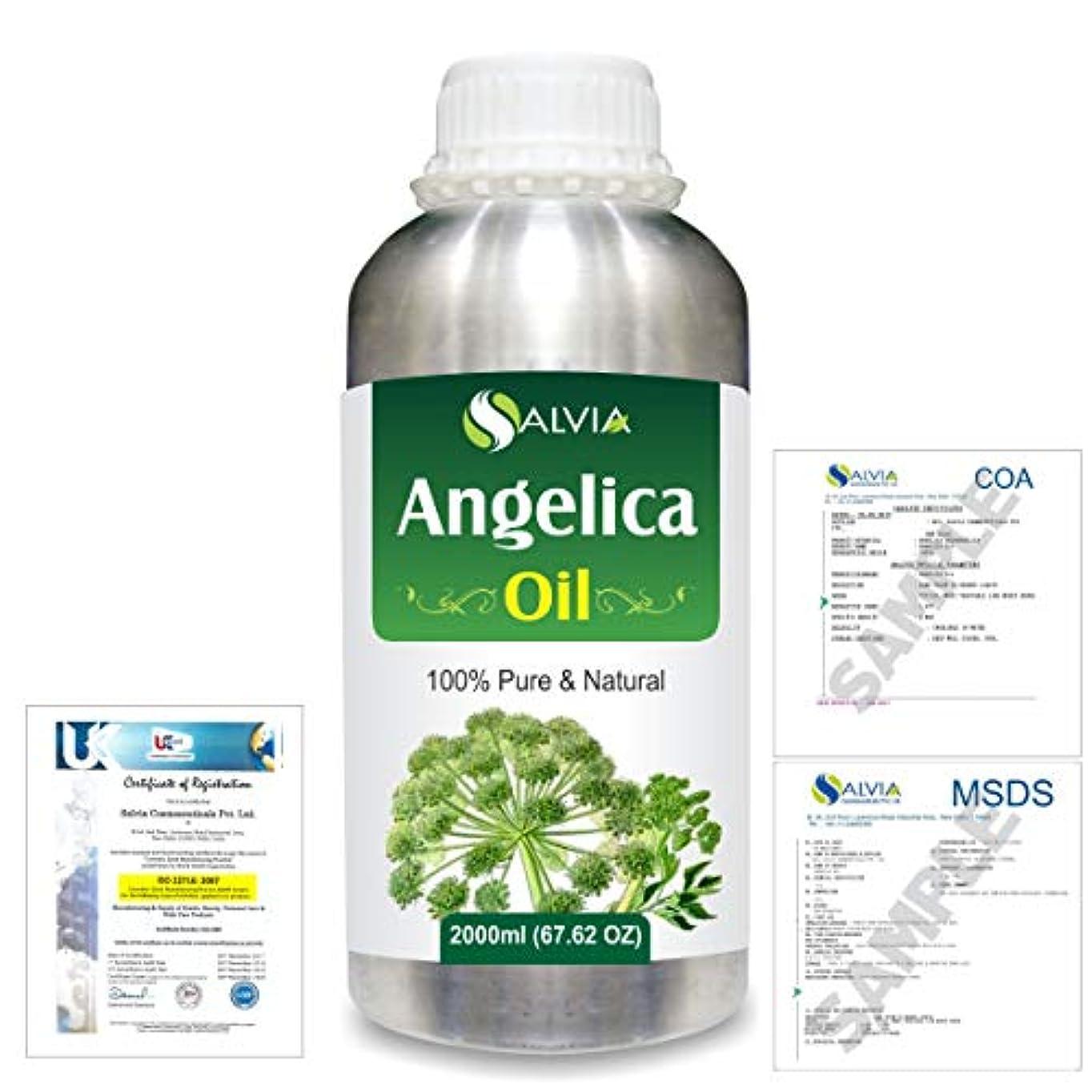 見えないゴミピボットAngelica (Angelica archangelica) 100% Natural Pure Essential Oil 2000ml/67 fl.oz.