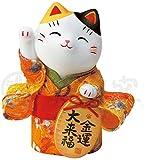 錦彩ちりめん小判招き猫(金運) AM-Y7415