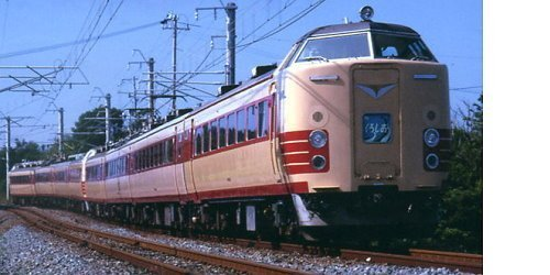 Nゲージ A3699 国鉄485系 特急「くろしお」 4両セット