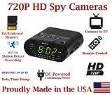 SecureGuard HD 720p Personal Home Alarm Clock Radio Spy Camera Covert Hidden Nanny Camera Spy Gadget [並行輸入品]