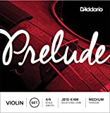 D'Addario ダダリオ バイオリン弦 J810 4/4M Prelude Violin Strings / SET 【国内正規品】