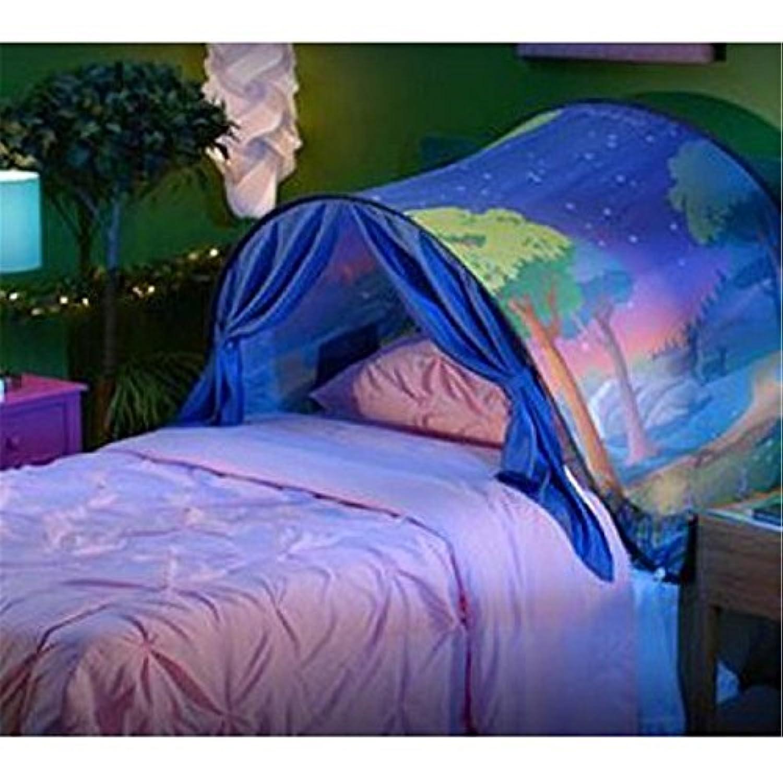 折りたたみ式Galaxy Starry再生テントKids Pop UpベッドテントPlayhouse、素晴らしい贈り物for Children