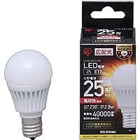 IRIS LED電球 小形 広配光 電球色25形相当(230lm) LDA3L-G-E17-2T3 電球(LED)