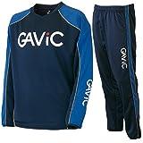 ガビック(GAViC) ウォーミングトップ(大ロゴ)&ウォーミングパンツ 上下セット(ネイビーブルー/ネイビーブルー) GA0102-NVYBLU-GA0202-NVYBLU XL
