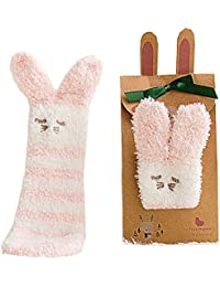 赤ちゃん ベビー 女の子 キッズ 子供用 男の子 靴下 ソックス 可愛い 動物柄 プレセント 冬 暖かい ハイソックス クリスマス